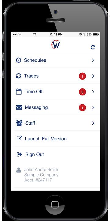 Mobile Employee Scheduling - WhenToWork Online Employee ...