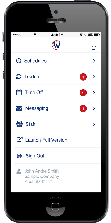 mobile employee scheduling app whentowork